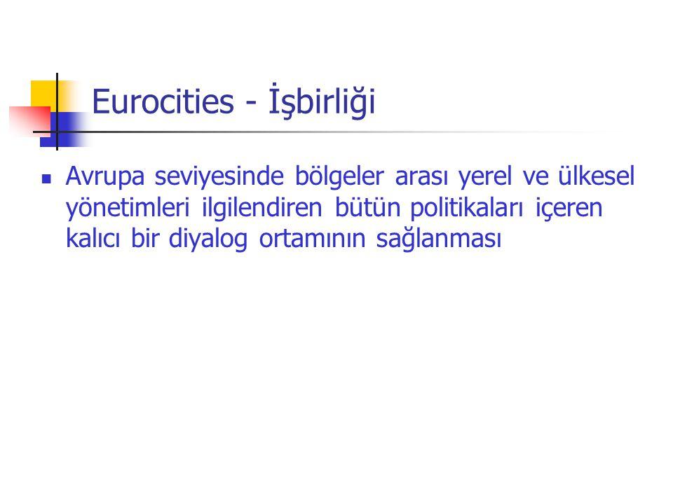 Eurocities - İşbirliği