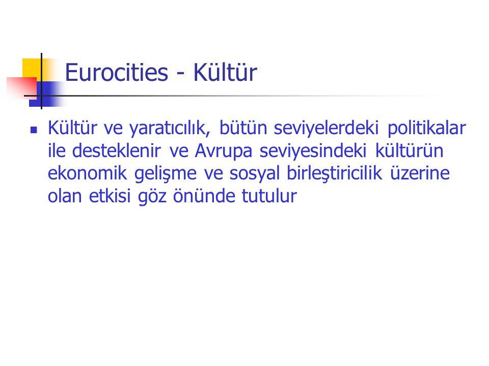 Eurocities - Kültür