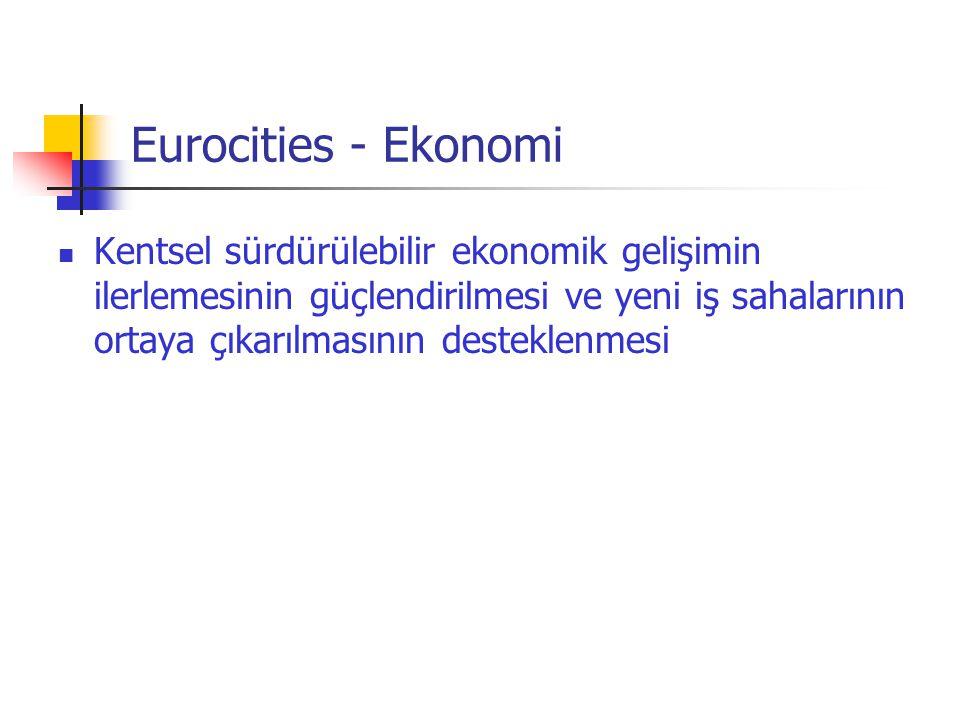 Eurocities - Ekonomi
