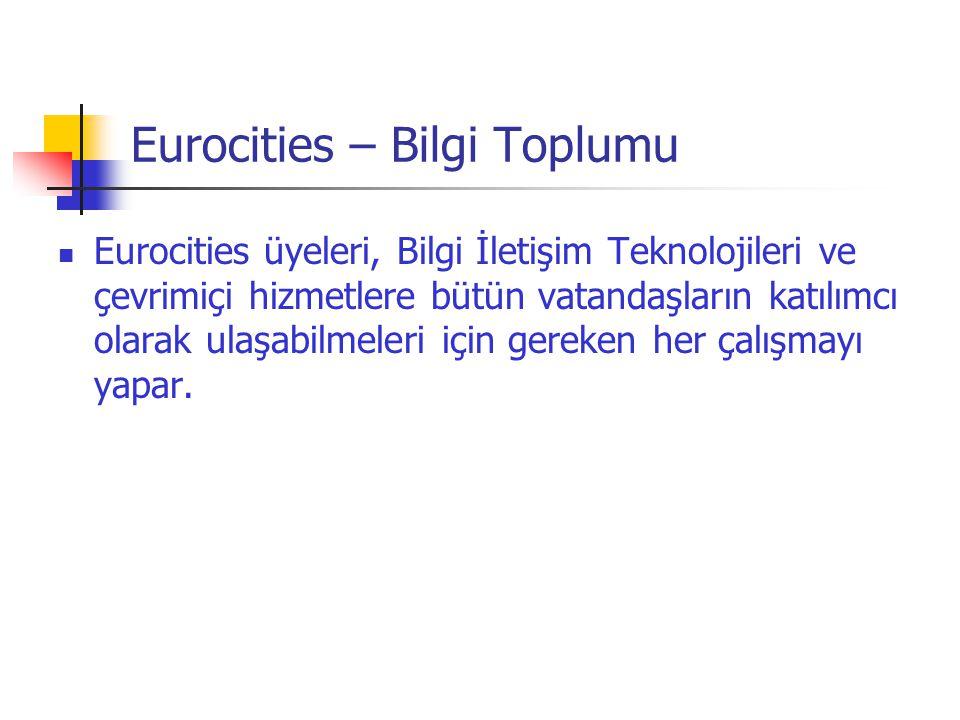 Eurocities – Bilgi Toplumu