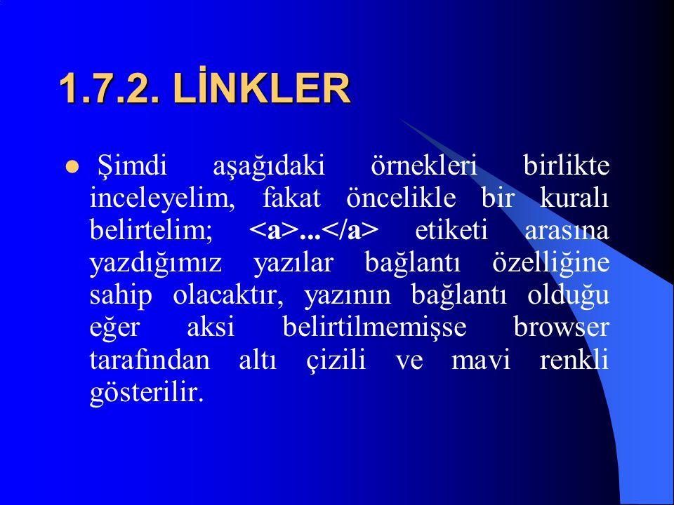 1.7.2. LİNKLER