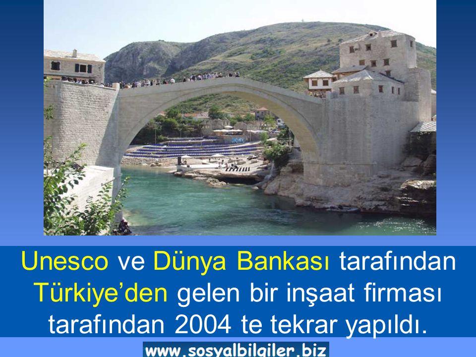 Unesco ve Dünya Bankası tarafından Türkiye'den gelen bir inşaat firması tarafından 2004 te tekrar yapıldı.