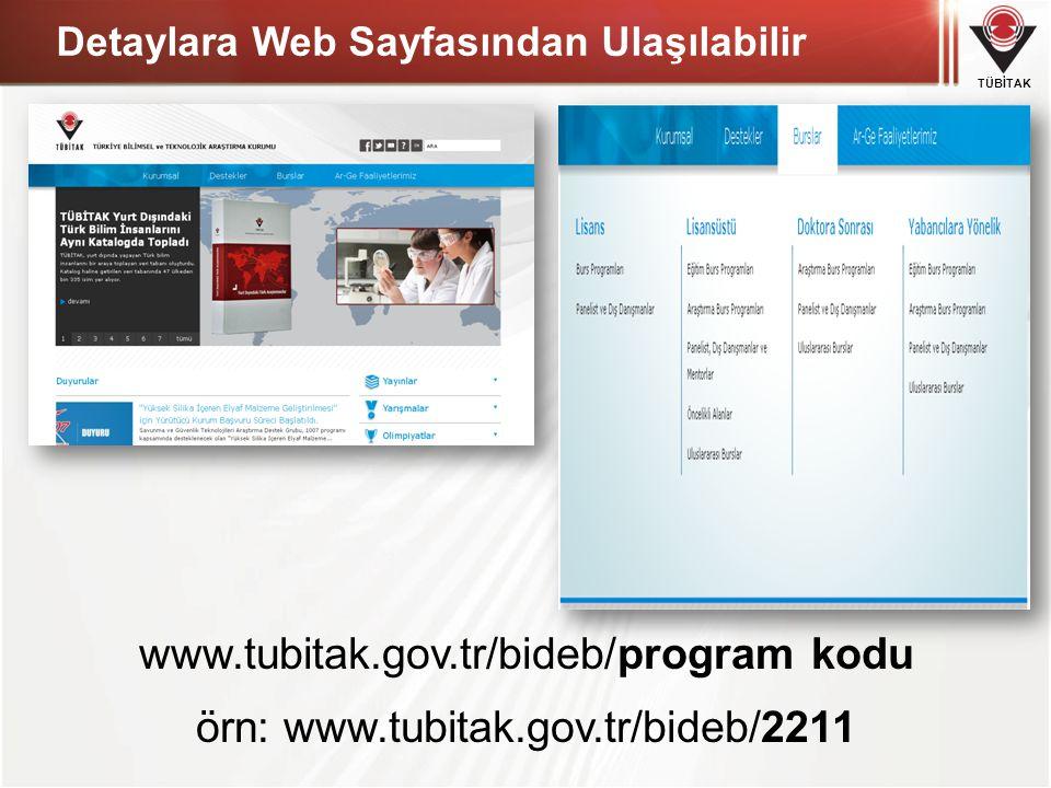 Detaylara Web Sayfasından Ulaşılabilir