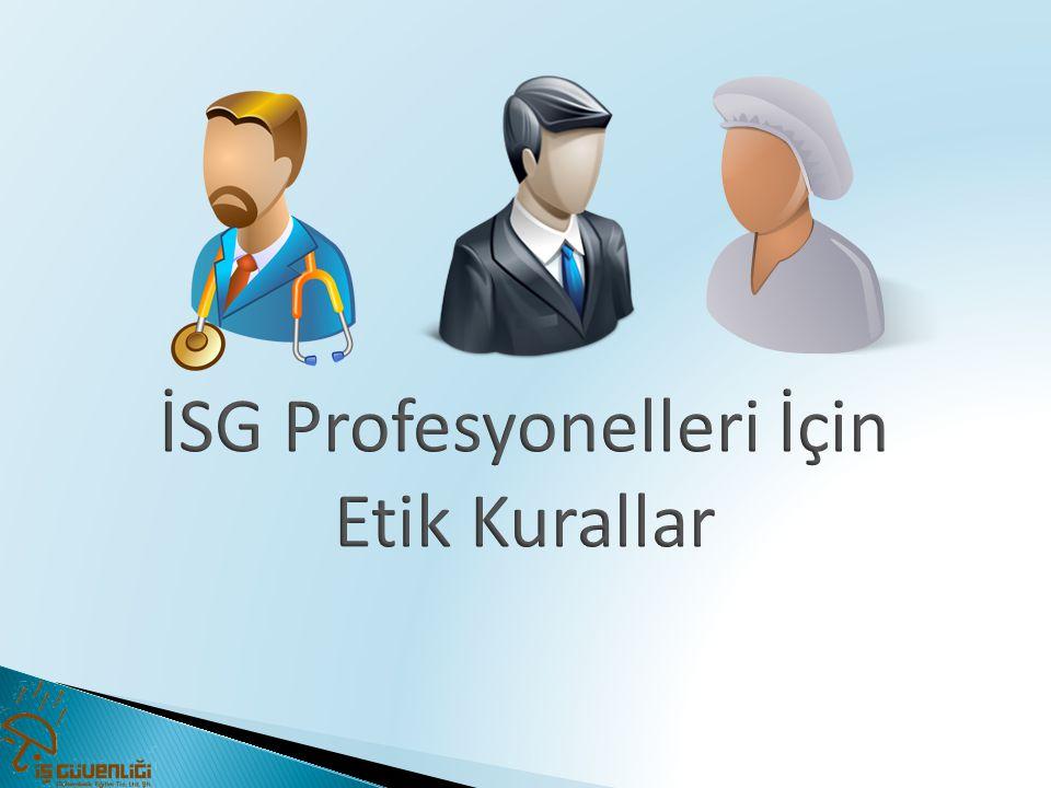 İSG Profesyonelleri İçin