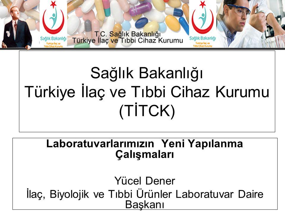 Sağlık Bakanlığı Türkiye İlaç ve Tıbbi Cihaz Kurumu (TİTCK)