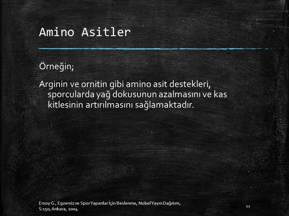 Amino Asitler