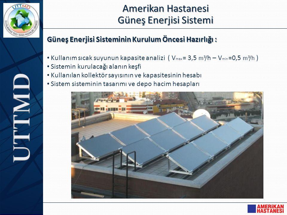 Amerikan Hastanesi Güneş Enerjisi Sistemi