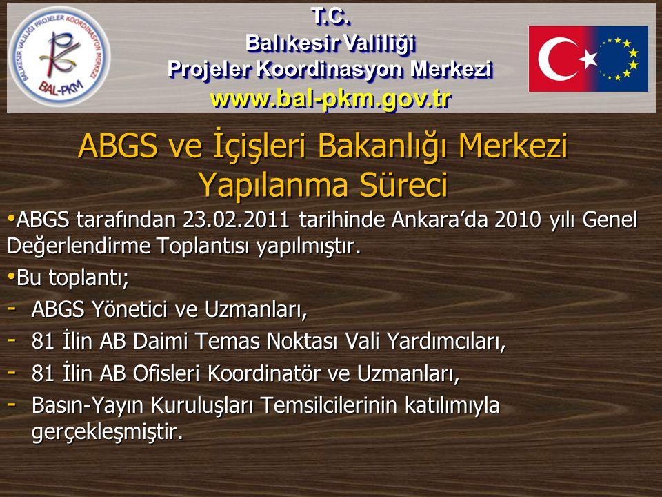 ABGS ve İçişleri Bakanlığı Merkezi Yapılanma Süreci