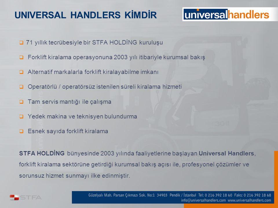UNIVERSAL HANDLERS KİMDİR