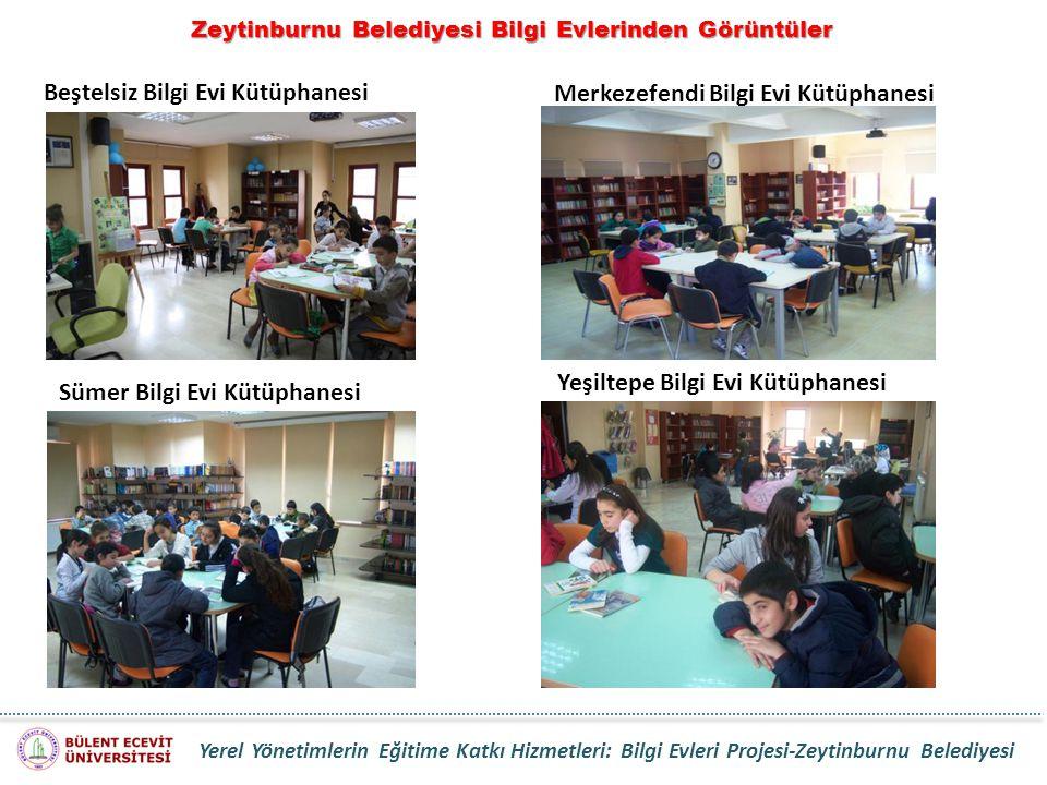Zeytinburnu Belediyesi Bilgi Evlerinden Görüntüler