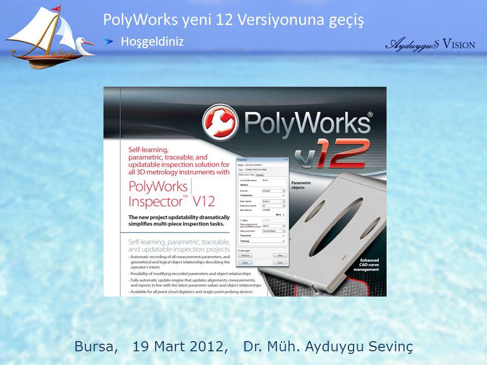 Bursa, 19 Mart 2012, Dr. Müh. Ayduygu Sevinç