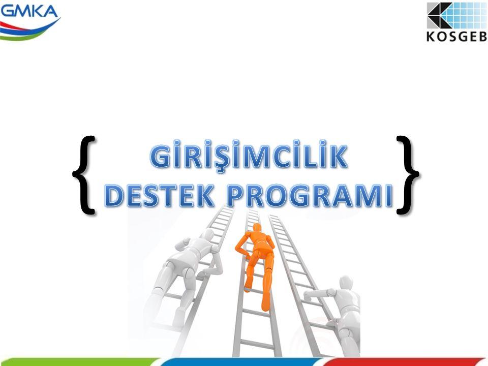 { } GİRİŞİMCİLİK DESTEK PROGRAMI