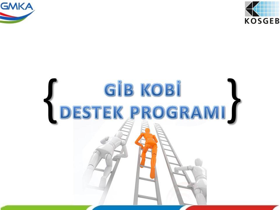 { } GİB KOBİ DESTEK PROGRAMI