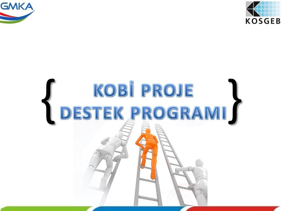 { } KOBİ PROJE DESTEK PROGRAMI