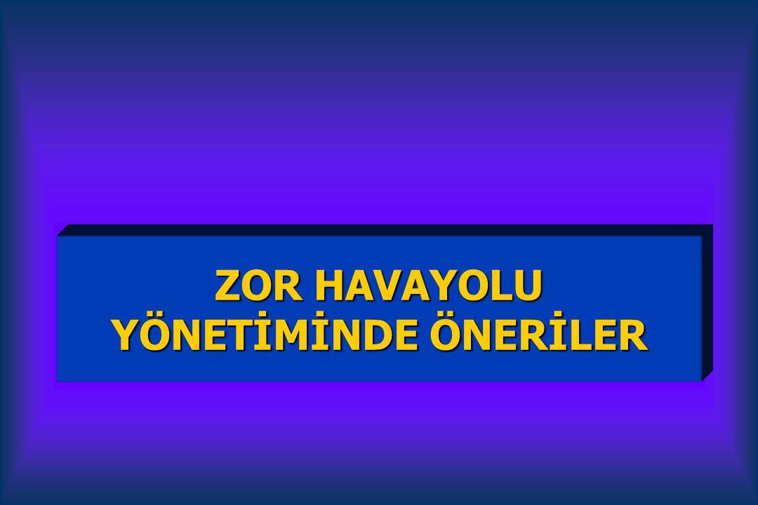 ZOR HAVAYOLU YÖNETİMİNDE ÖNERİLER