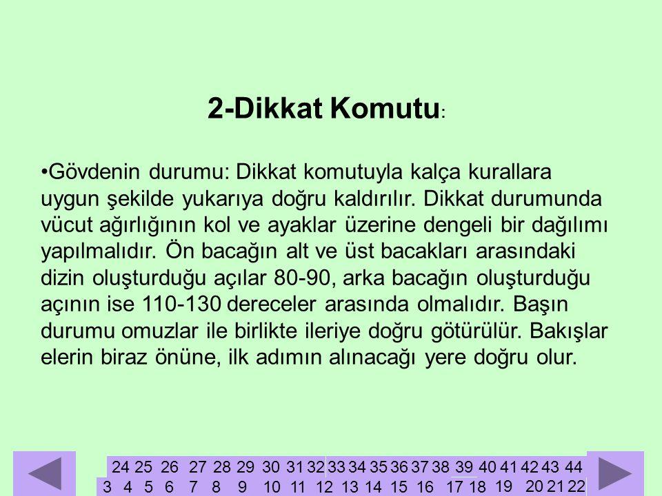 2-Dikkat Komutu: