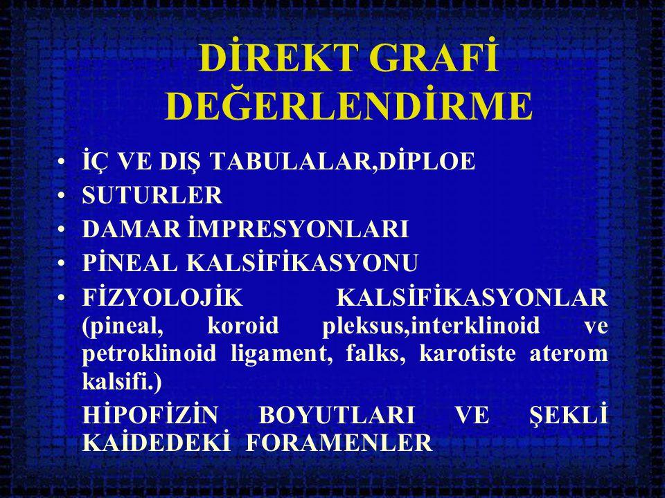 DİREKT GRAFİ DEĞERLENDİRME