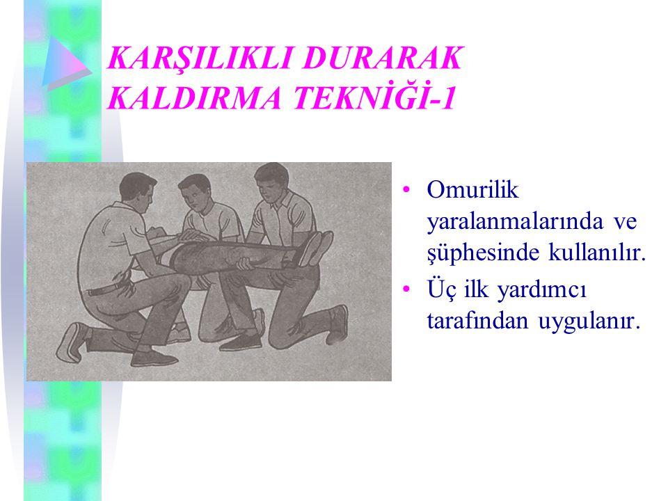 KARŞILIKLI DURARAK KALDIRMA TEKNİĞİ-1