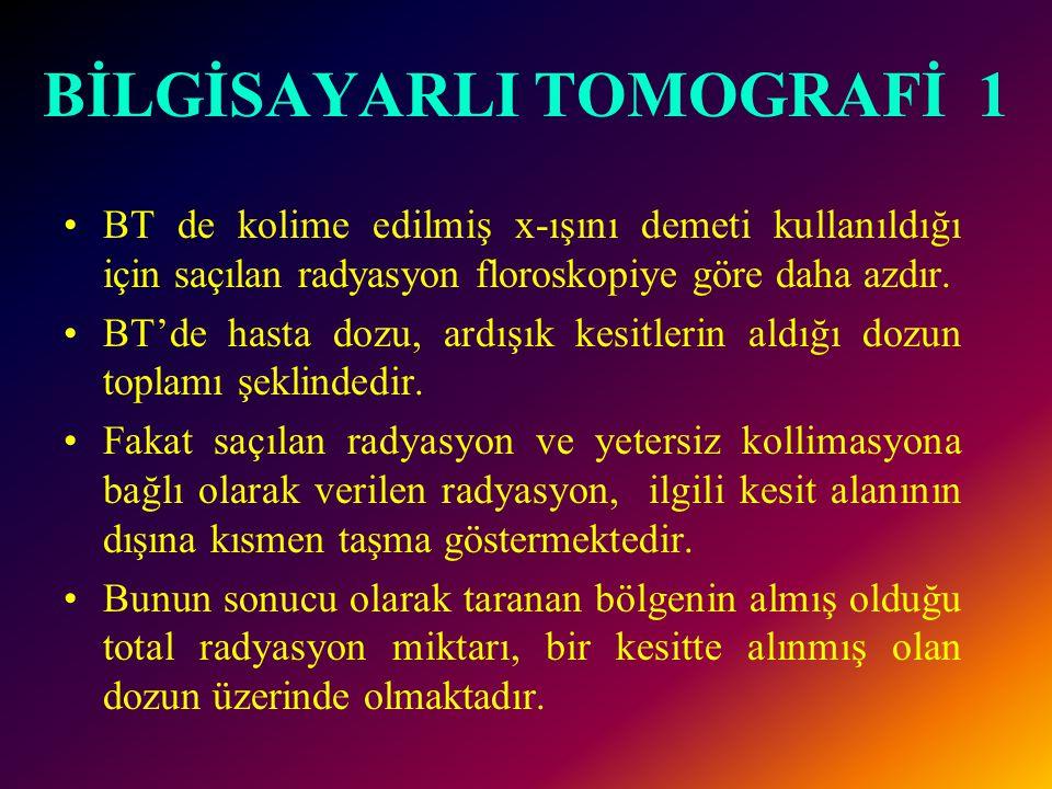 BİLGİSAYARLI TOMOGRAFİ 1