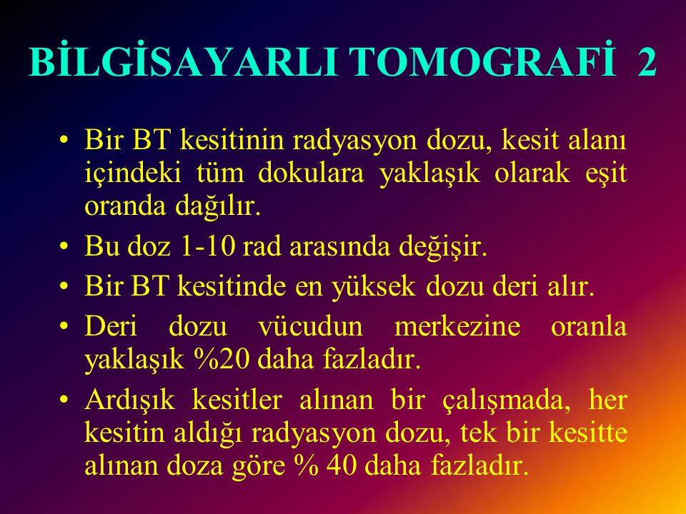 BİLGİSAYARLI TOMOGRAFİ 2