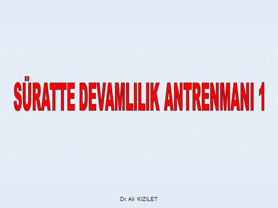 SÜRATTE DEVAMLILIK ANTRENMANI 1