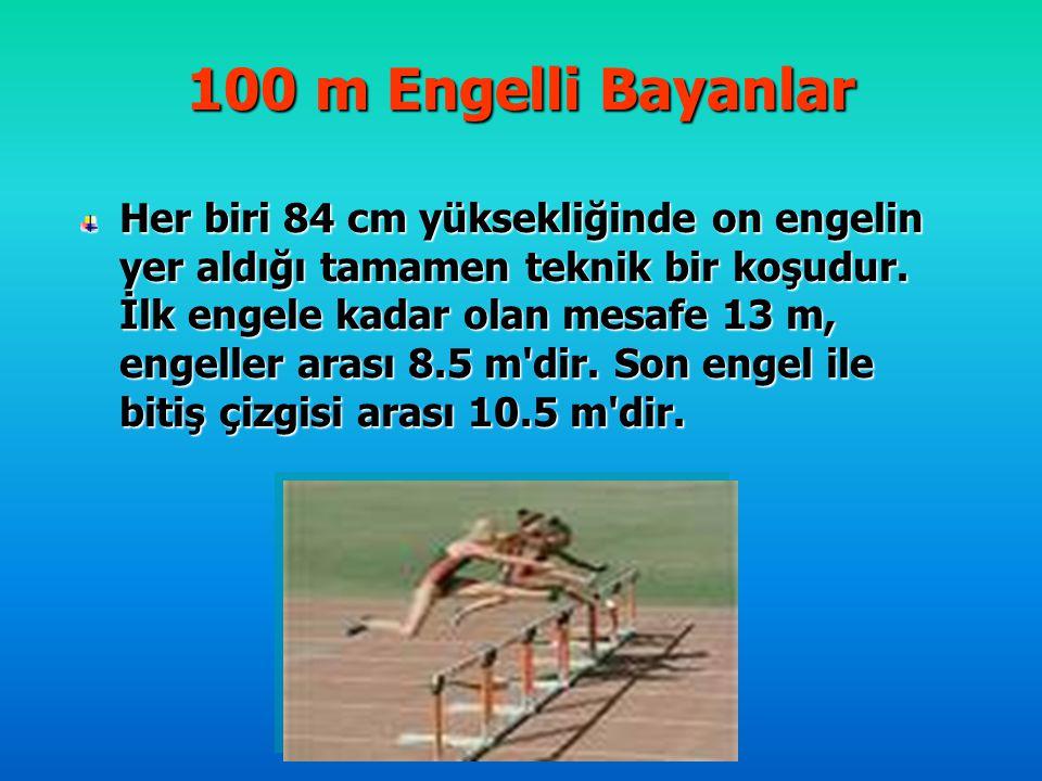 100 m Engelli Bayanlar