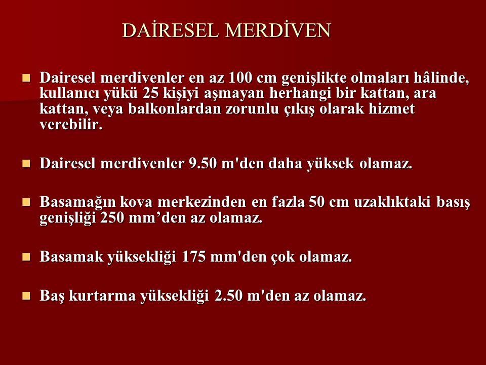 DAİRESEL MERDİVEN