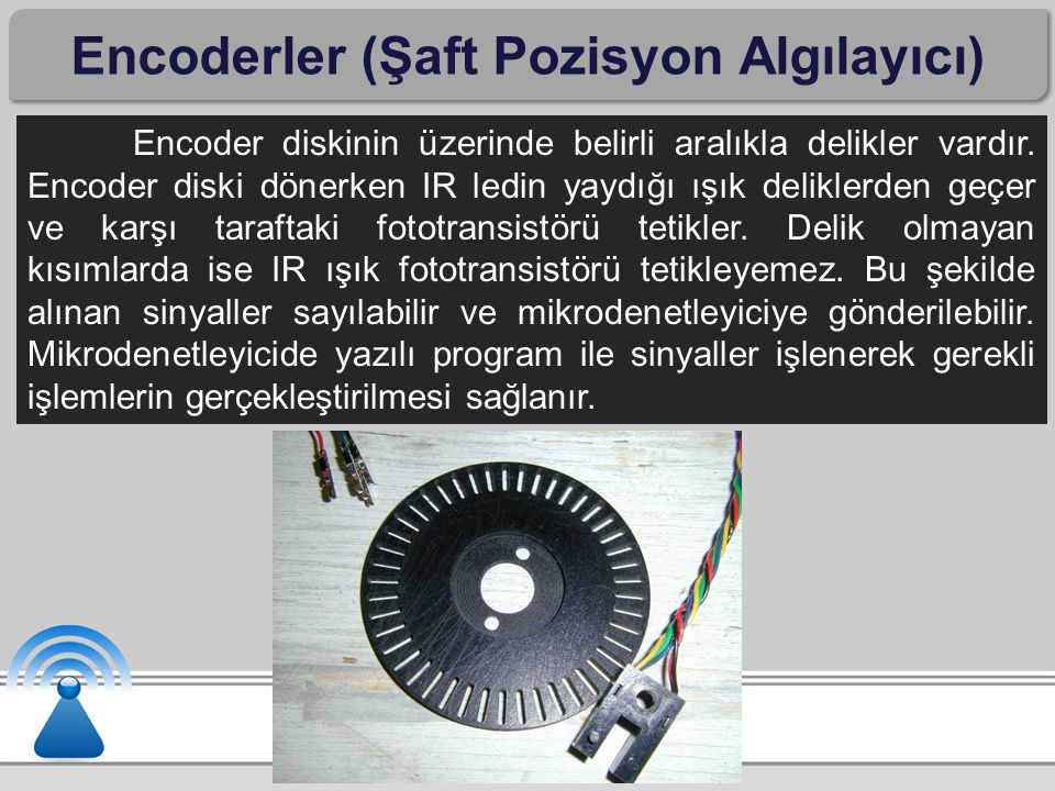 Encoderler (Şaft Pozisyon Algılayıcı)