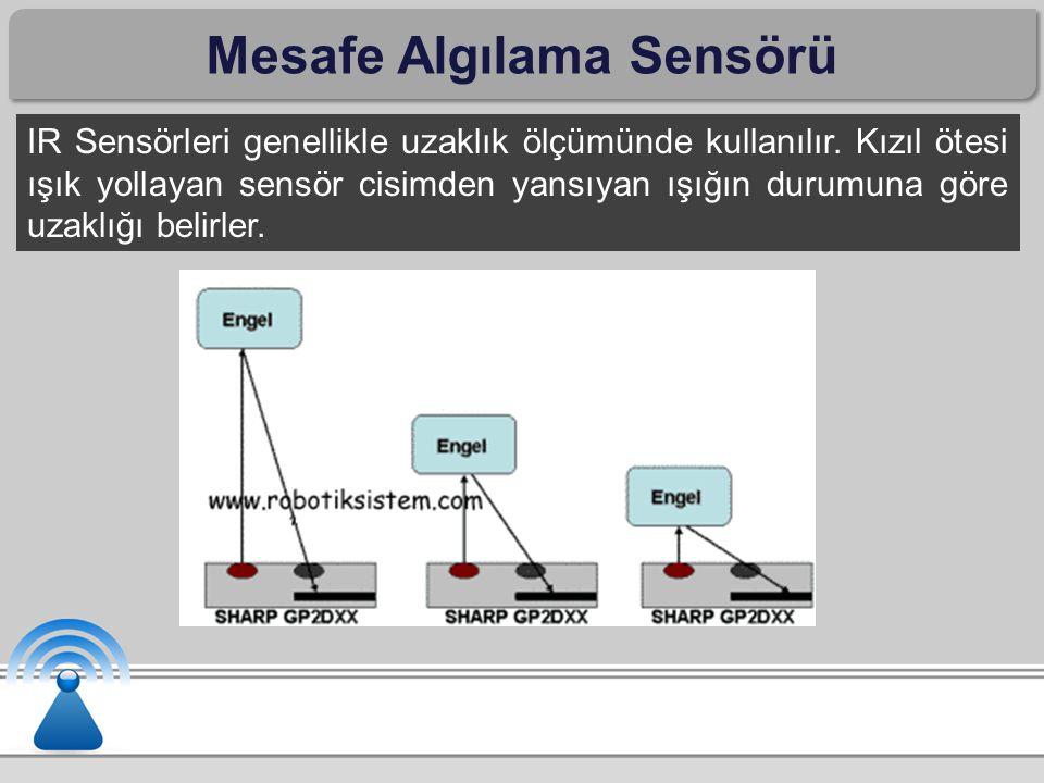 Mesafe Algılama Sensörü