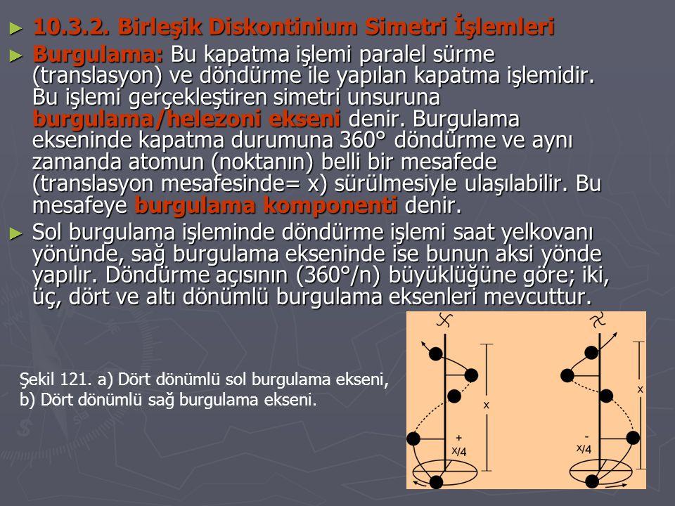 10.3.2. Birleşik Diskontinium Simetri İşlemleri