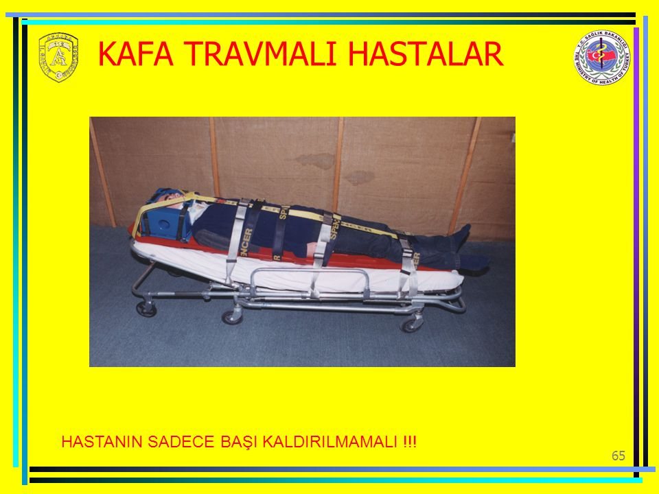 KAFA TRAVMALI HASTALAR