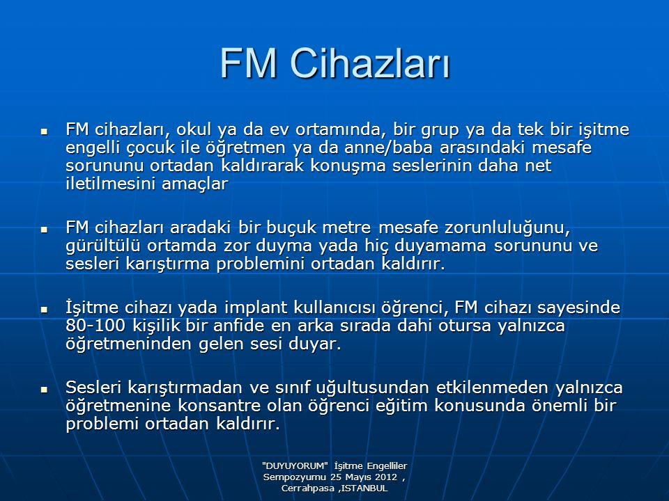 FM Cihazları