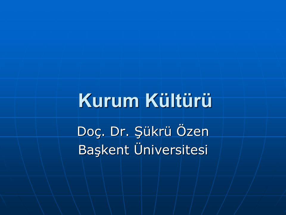 Doç. Dr. Şükrü Özen Başkent Üniversitesi