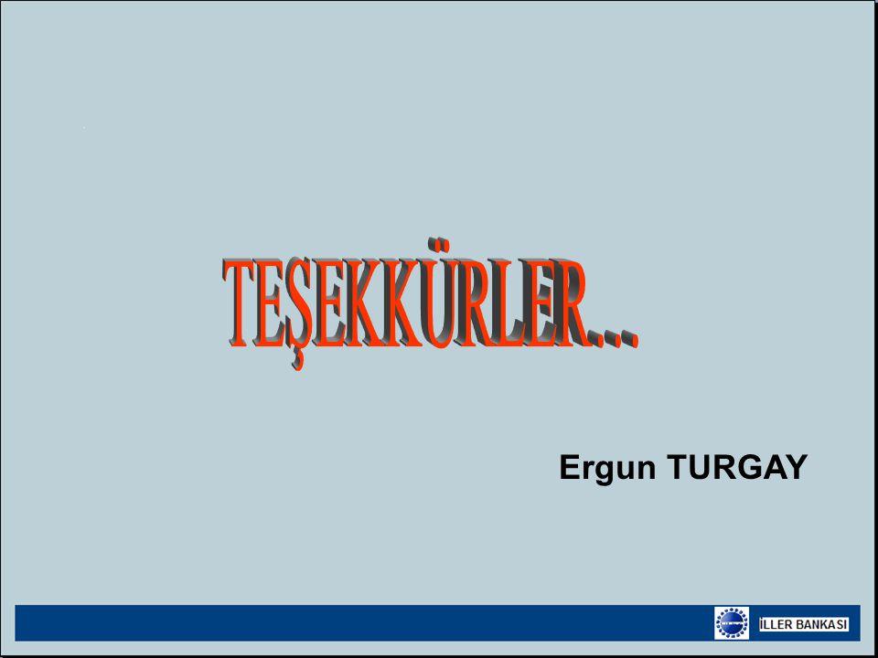 TEŞEKKÜRLER… Ergun TURGAY