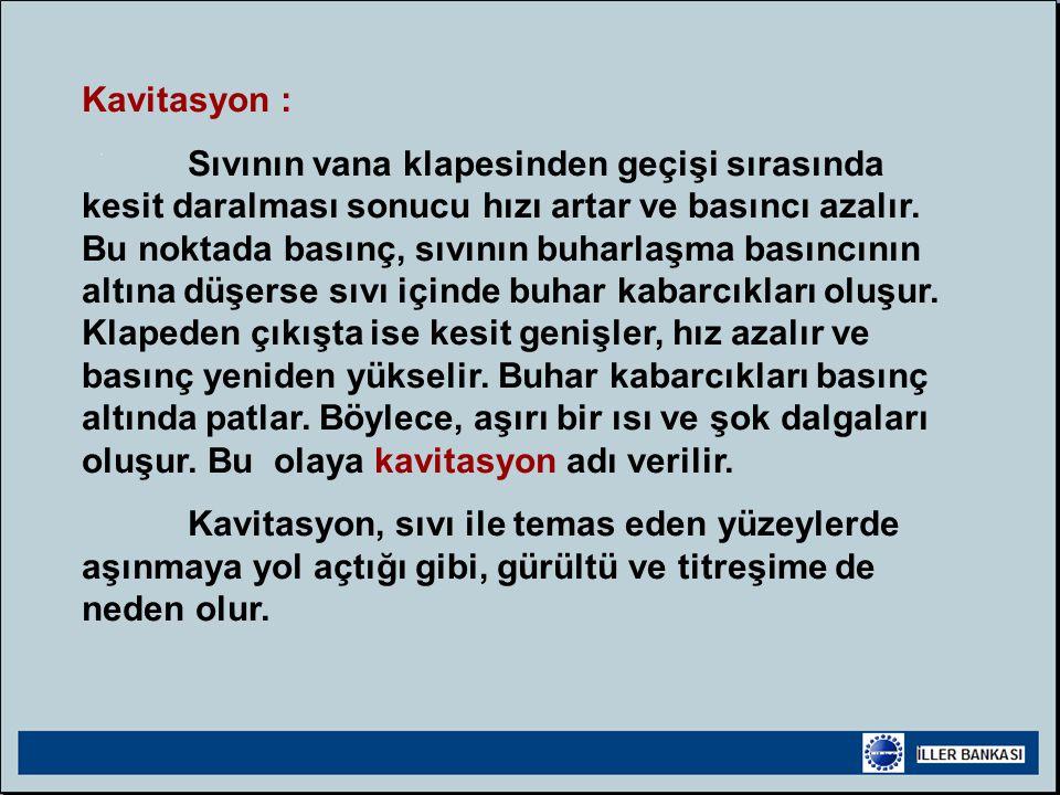 Kavitasyon :