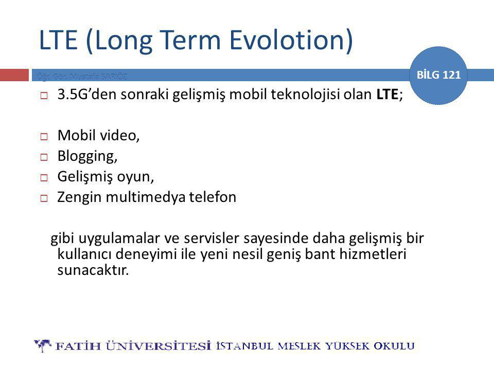 LTE (Long Term Evolotion)