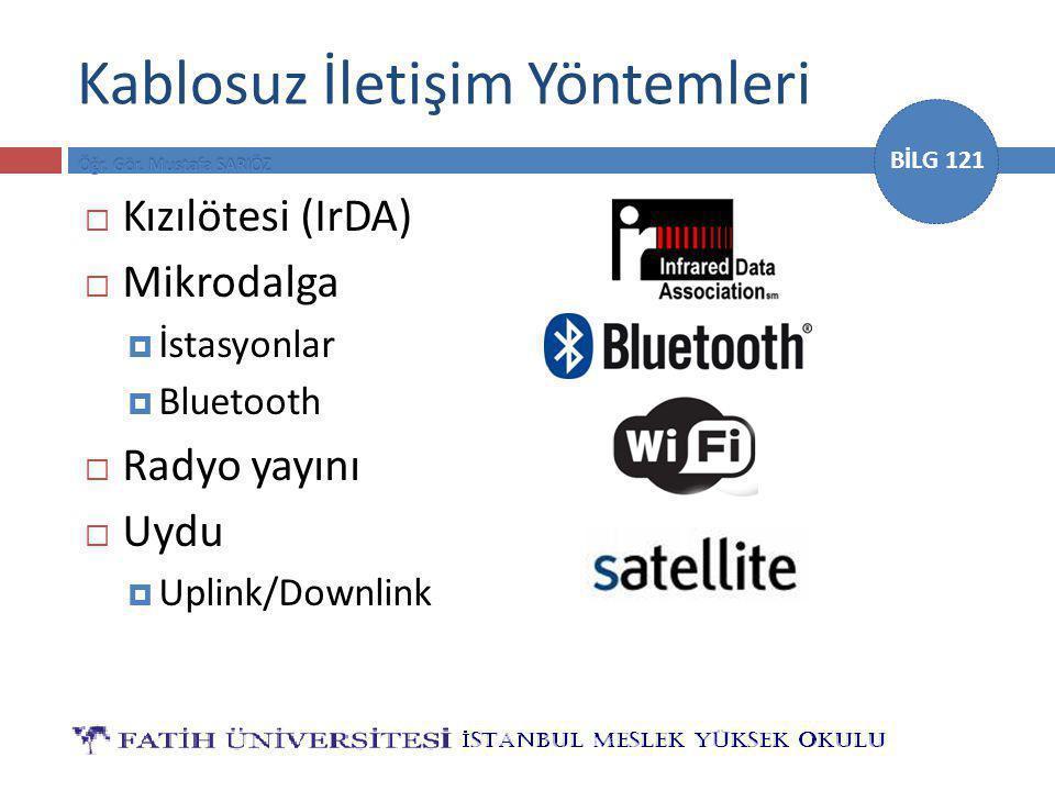 Kablosuz İletişim Yöntemleri