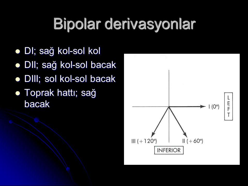 Bipolar derivasyonlar