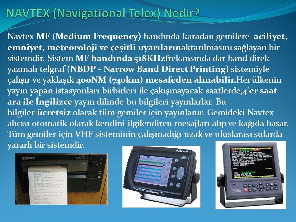 NAVTEX (Navigational Telex) Nedir