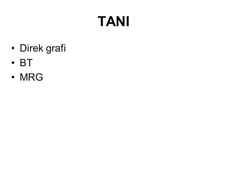 TANI Direk grafi BT MRG