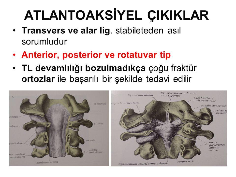 ATLANTOAKSİYEL ÇIKIKLAR