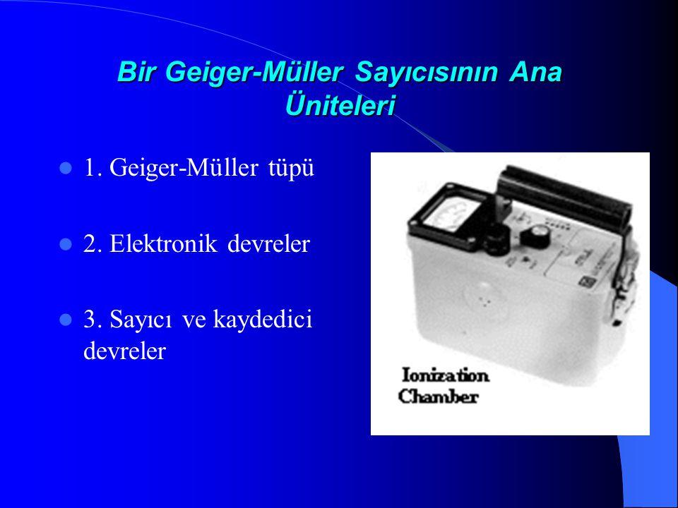 Bir Geiger-Müller Sayıcısının Ana Üniteleri