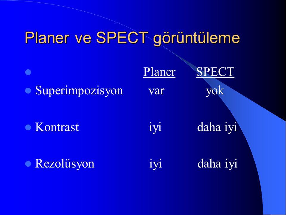 Planer ve SPECT görüntüleme