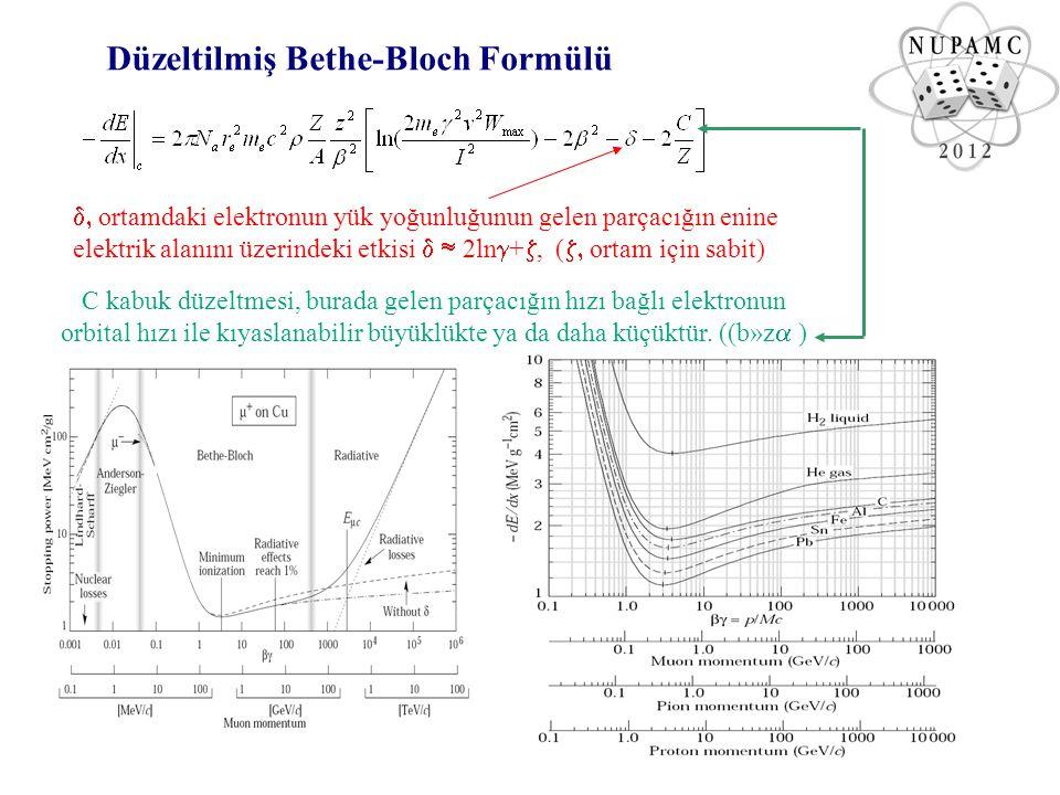 Düzeltilmiş Bethe-Bloch Formülü