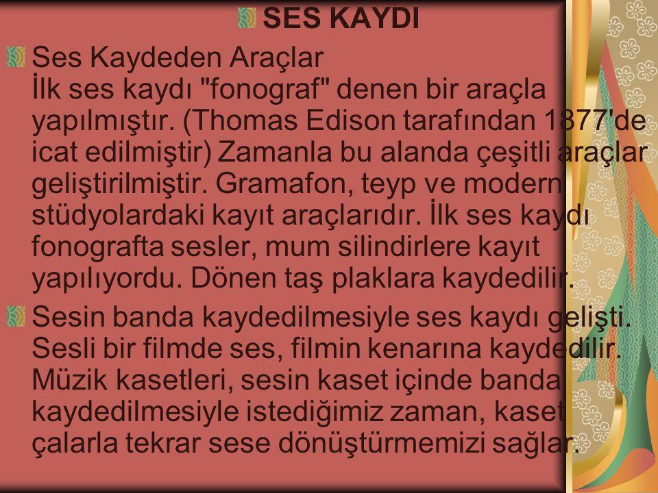 SES KAYDI