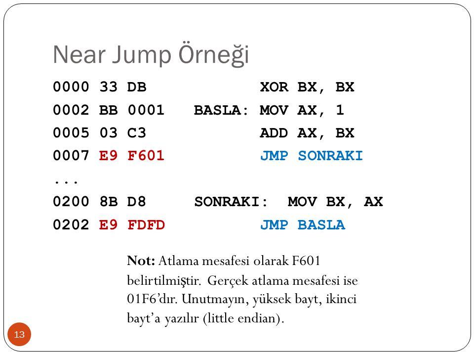 Near Jump Örneği