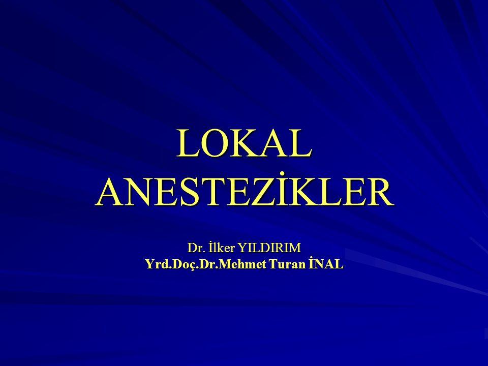 Dr. İlker YILDIRIM Yrd.Doç.Dr.Mehmet Turan İNAL