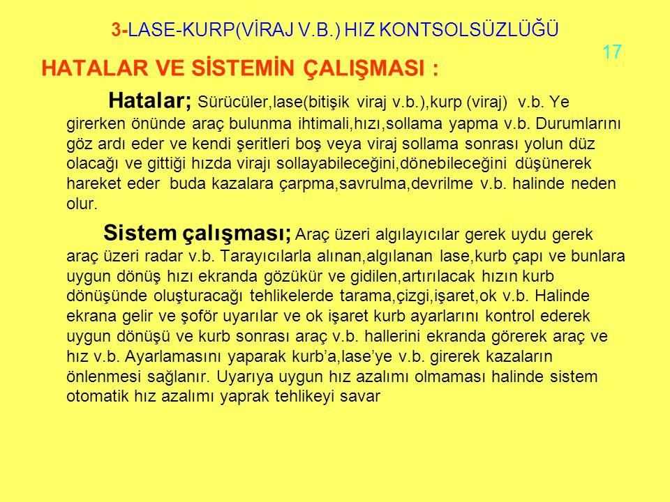 3-LASE-KURP(VİRAJ V.B.) HIZ KONTSOLSÜZLÜĞÜ 17