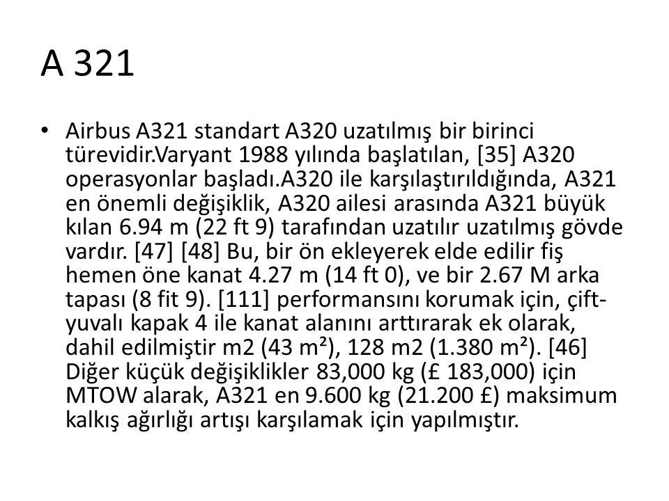 A 321