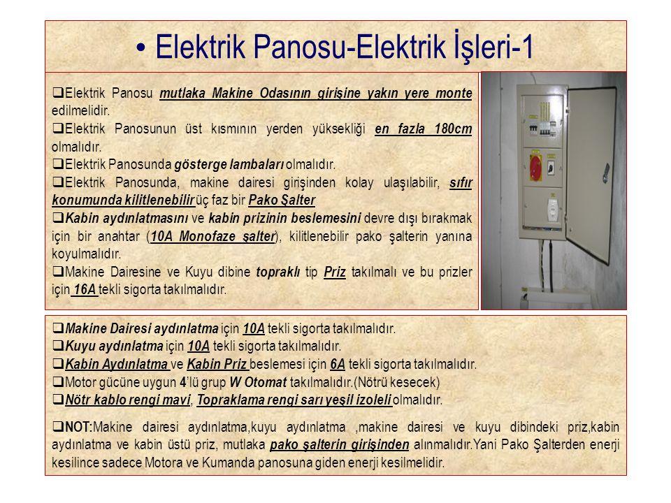 Elektrik Panosu-Elektrik İşleri-1